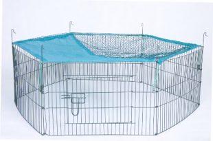 Trixie 6242 natura Freilaufgehege fuer Jungtiere mit Netz o 116 310x205 - Trixie 6242 natura Freilaufgehege für Jungtiere mit Netz, ø 116 × 38 cm