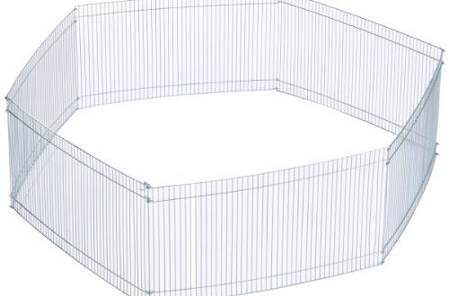 Trixie 6249 Freilaufgehege fuer Kleintiere verzinkt o 90 × 25 500x330 - Trixie 6249 Freilaufgehege für Kleintiere, verzinkt, ø 90 × 25 cm